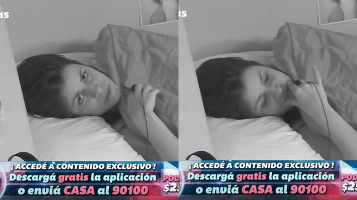 Camila abandonó la casa de Gran Hermano por propia decisión en medio de una crisis