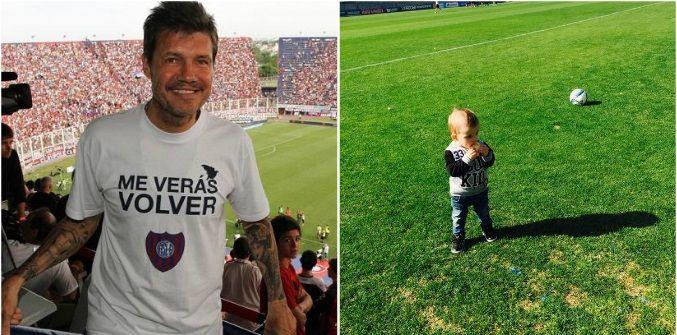 Marcelo Tinelli llevó a Lorenzo al entrenamiento de San Lorenzo: Es la nueva incorporación del equipo