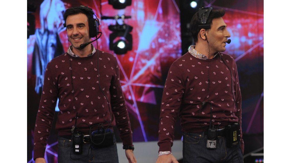 En la piel de Freddy Villarreal, apareció un doble de Federico Hoppe en ShowMatch