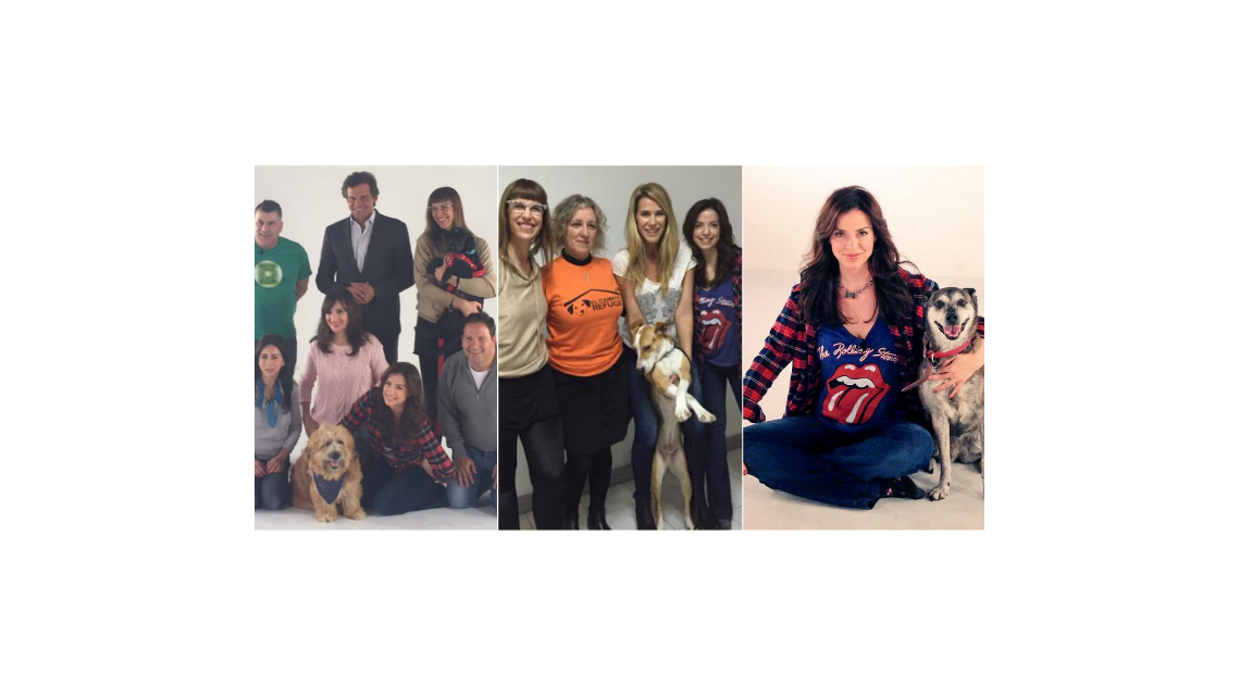 Varios famosos, juntos por una misión solidaria para ayudar a los perros