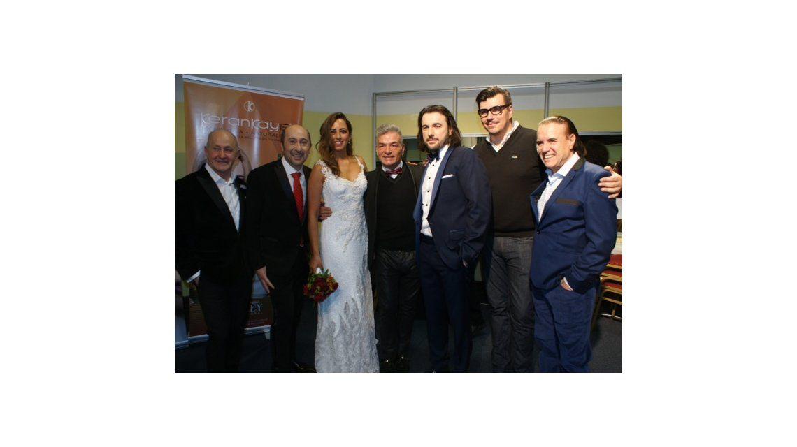 Claudio Cosano cerró el Argentina Fashion Week junto a Ergün Demir y su traductora
