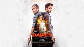 El impactante póster de Baires, la nueva película de Vicuña y Garciarena