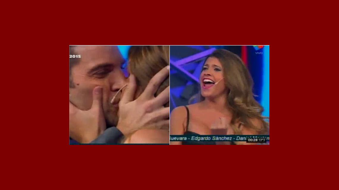 Florencia salió sacada de Gran Hermano ¡y le robó un beso a Fernando!