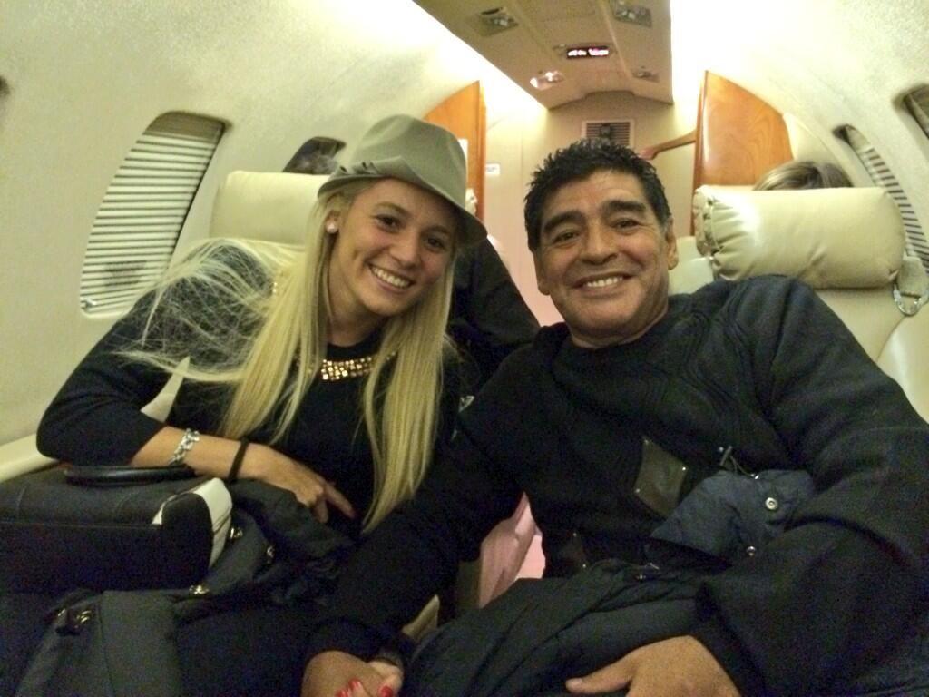 Los detalles de la boda de Diego Maradona y Rocío Oliva en Roma: ¿habrá bendición papal?