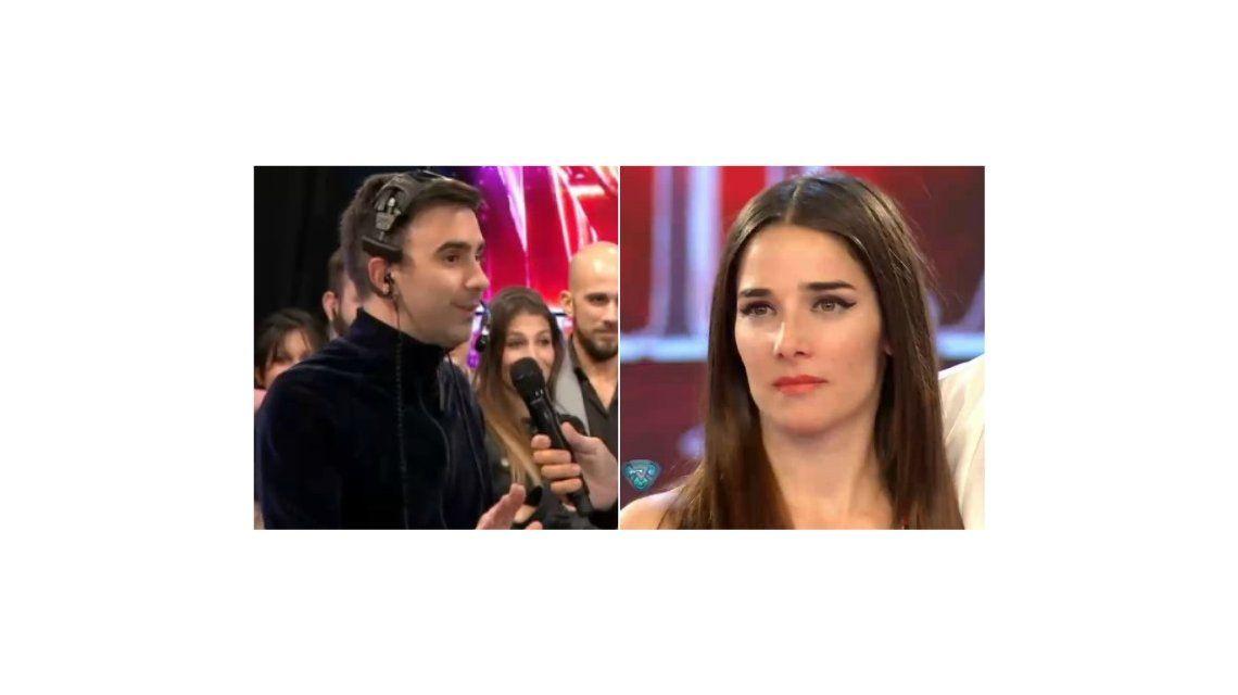 Incómodo momento de Juana Viale y Federico Hoppe en ShowMatch: ¿ella tiene onda?
