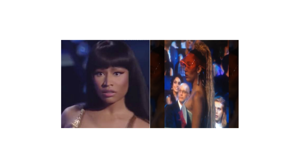 La verdadera reacción de Miley Cyrus en la pelea con Nicki Minaj durante los MTV Video Music Awards
