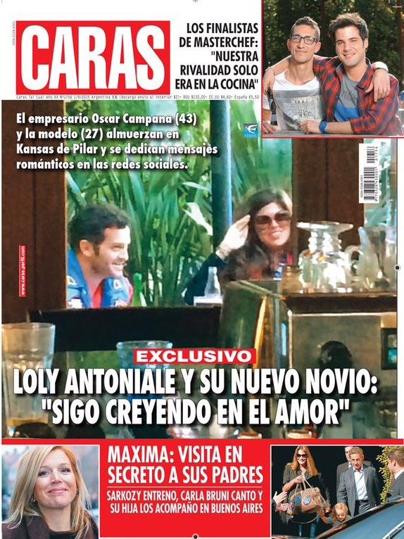 Las primeras fotos de Loly Antoniale con su nuevo amor: Si Jorge Rial es feliz así, que lo siga siendo