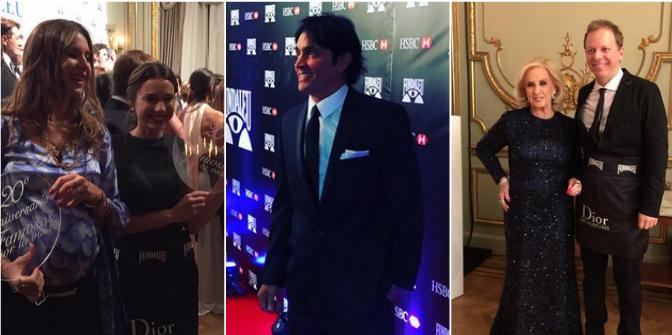 Los famosos, presentes en la gala de Fundaleu