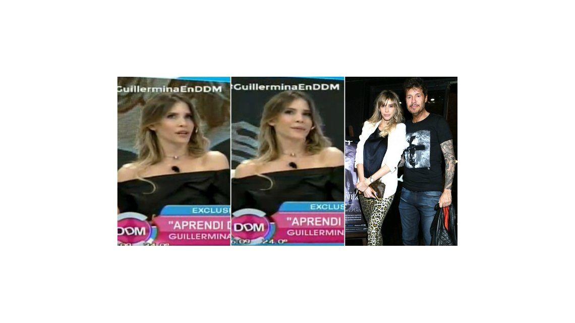 Guillermina Valdes habló en televisión de la cotidianeidad con Marcelo Tinelli y el conductor respondió por Twitter