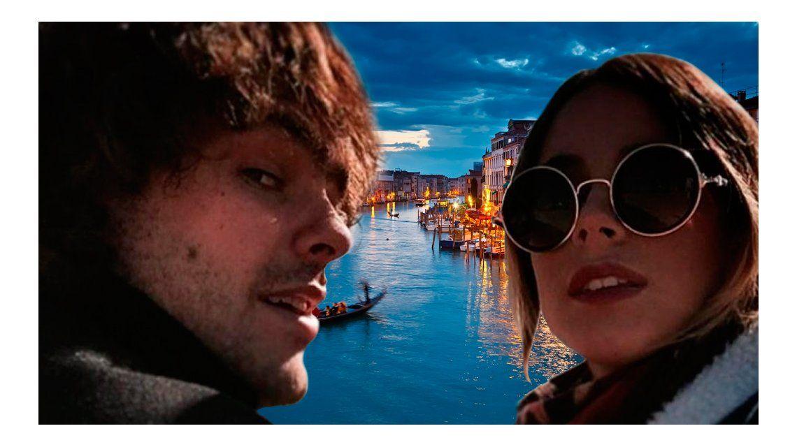 El próximo viaje de Tini Stoessel y Peter Lanzani, con destino a Venecia