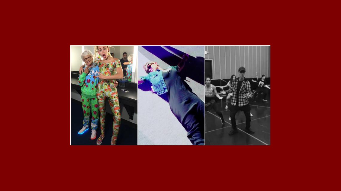 Kelly Osbourne, Miley Cyrus, y Justin Bieber se preparan para los MTV Music Awards  2015: ¡fotos y videos!