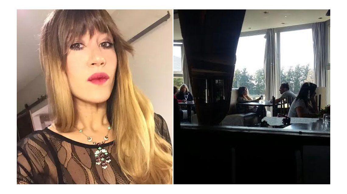 Jimena Barón ya no está sola: salió a almorzar con el doble de Daniel Osvaldo
