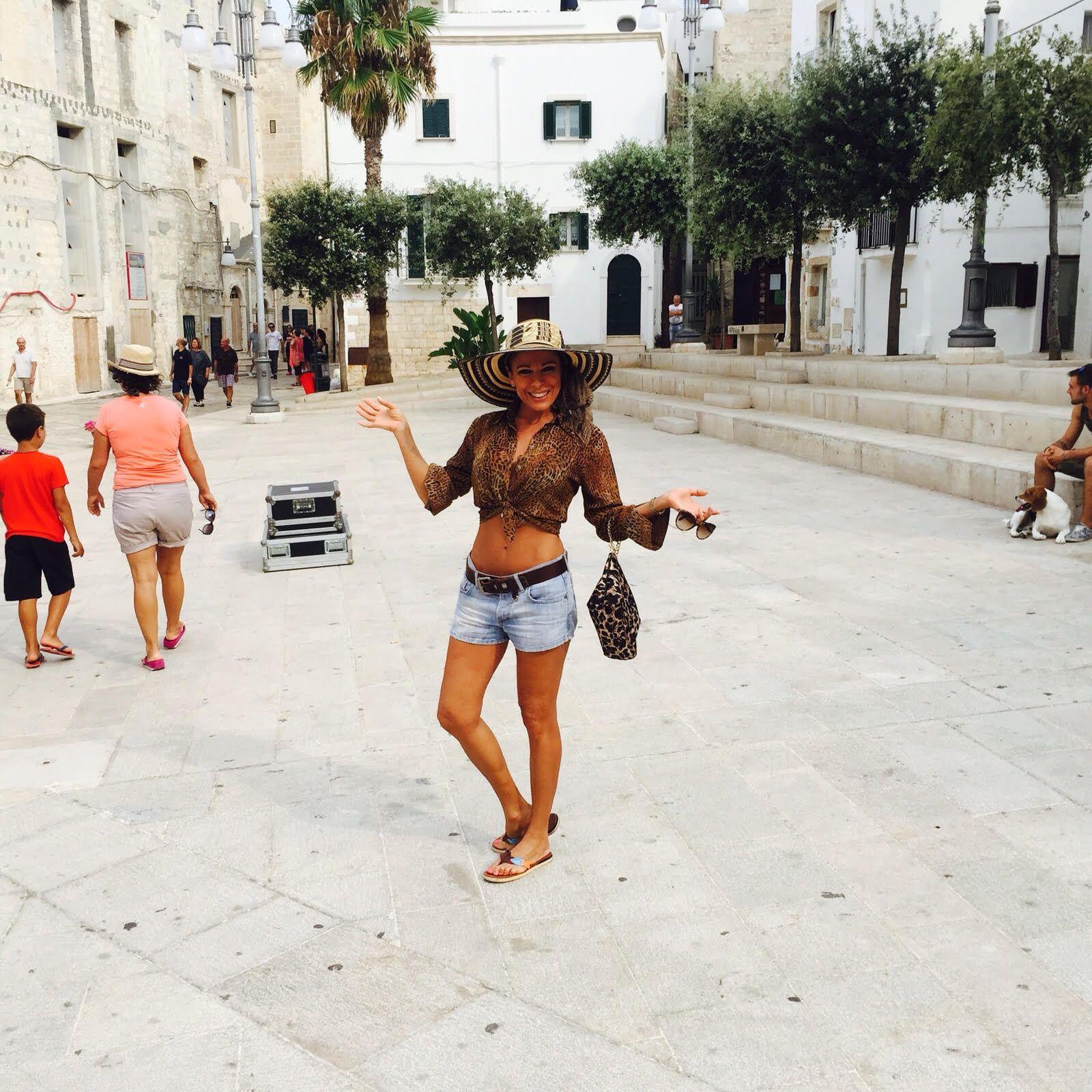 Las fotos de Iliana Calabró, muy sexy en Italia