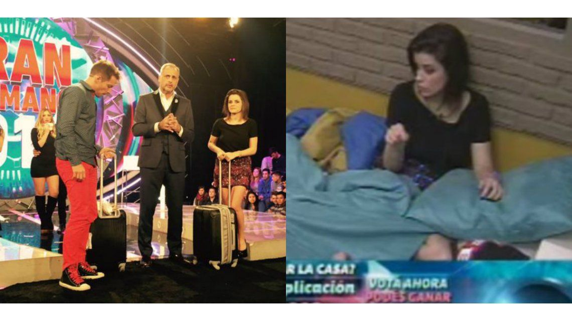 Las primeras horas de Francisco y Camila en la casa de Gran Hermano: él chicaneó a Mariano y ella pasó información de afuera