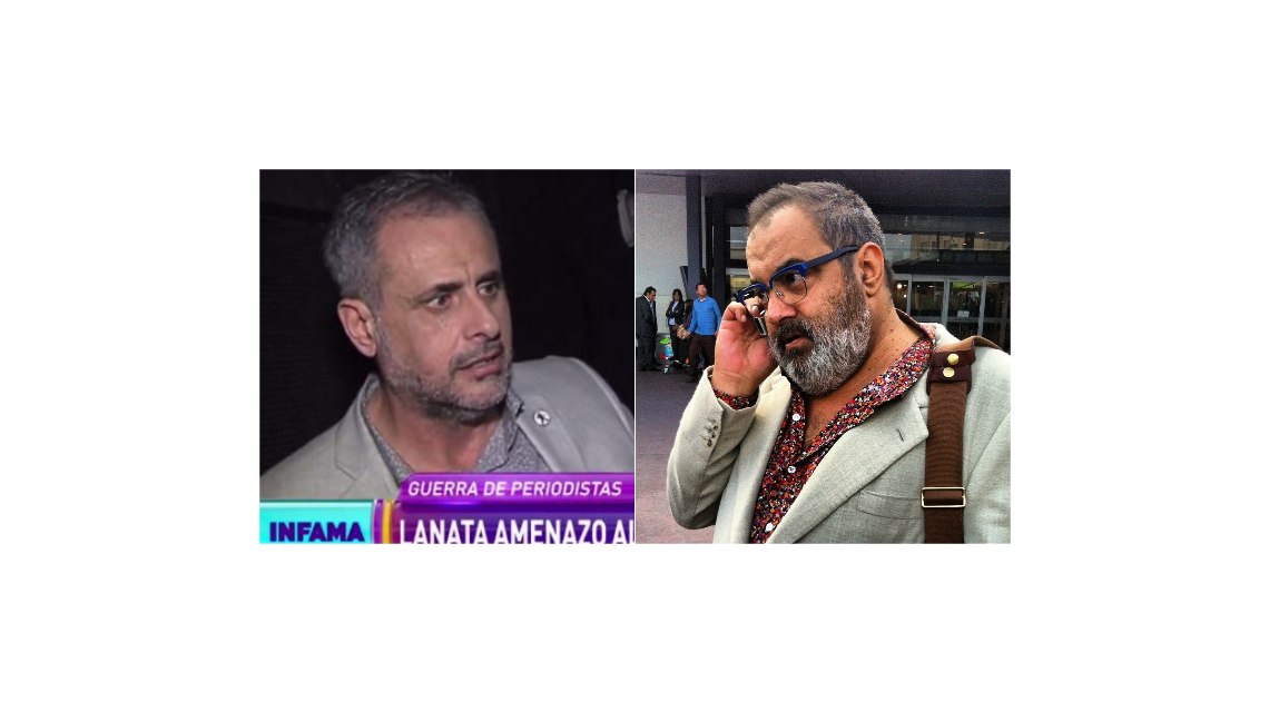 Jorge Rial le respondió irónicamente a Lanata: ¿Le tengo que tener miedo?