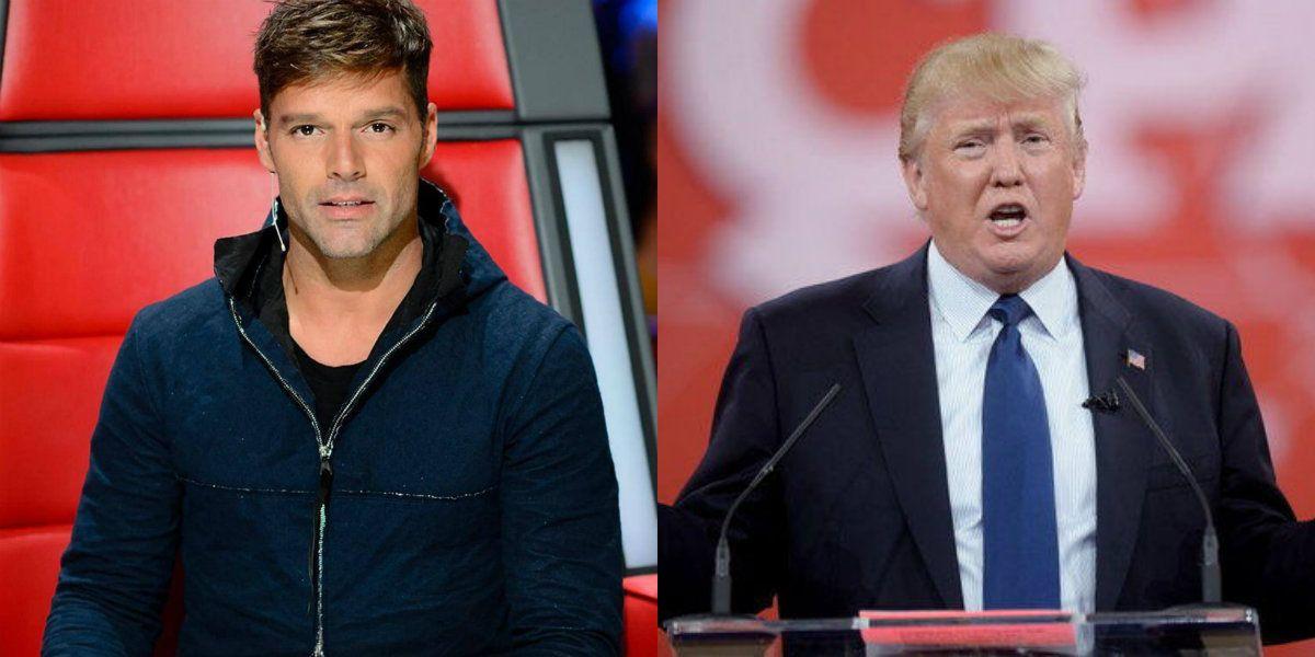 La carta abierta de Ricky Martin contra Donald Trump por un nuevo hecho de xenofobia