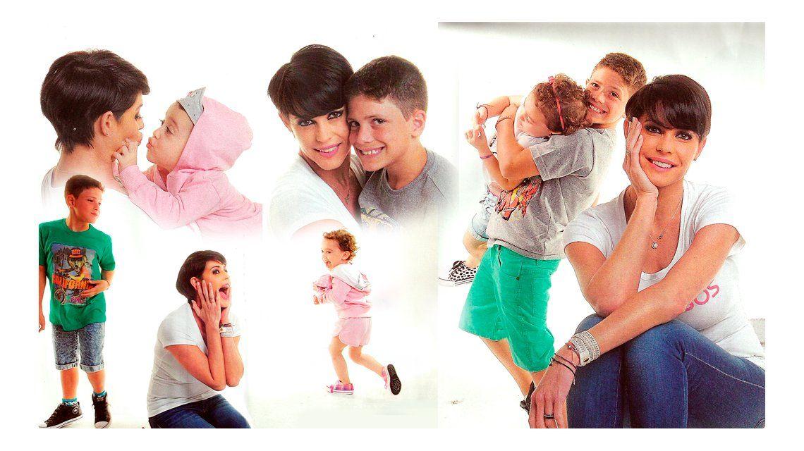 Pamela David, mamá full time: sus fotos con Felipe y Lola