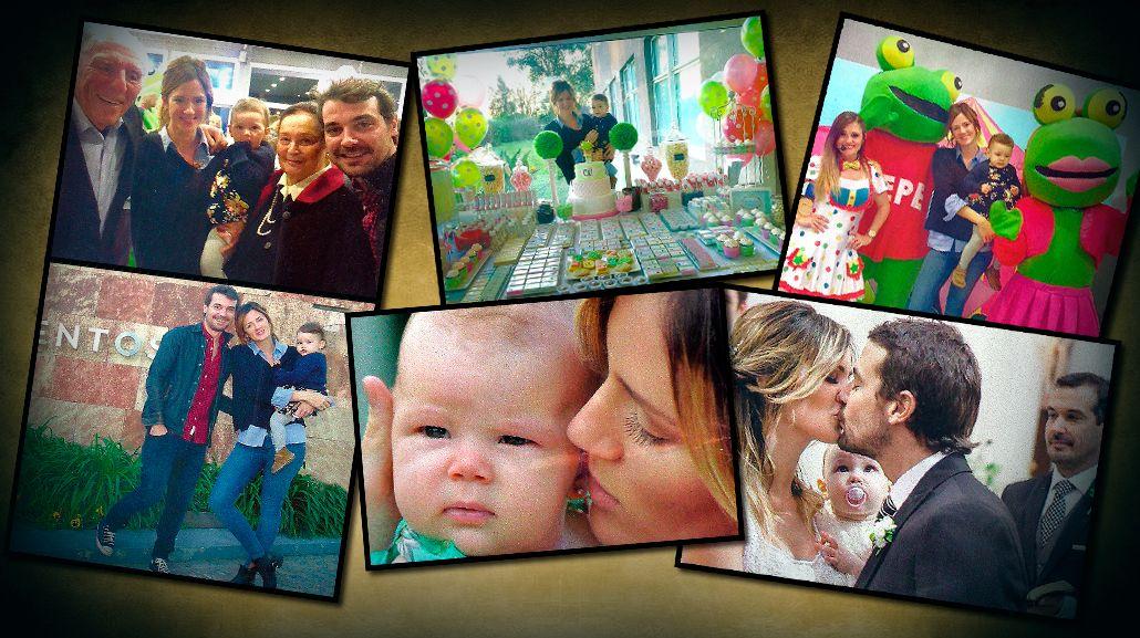 El álbum del cumpleaños de Olivia, la hija de Pedro Alfonso y Paula Chaves