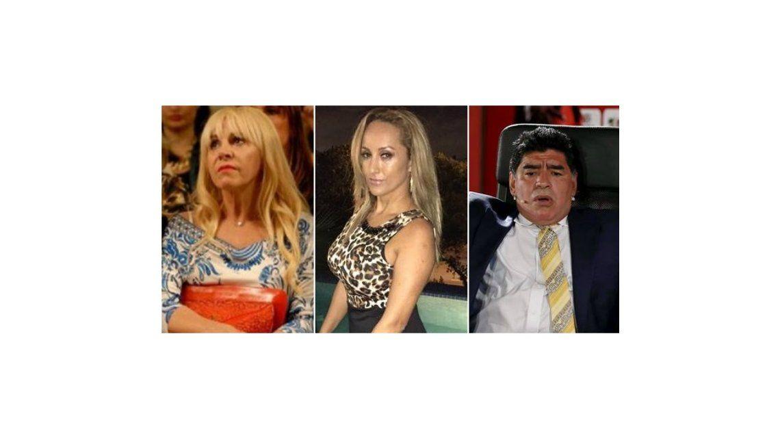 Claudia Villafañe le respondió a la apoderada de Maradona: Estoy molesta, se inventan cosas que no son verdad
