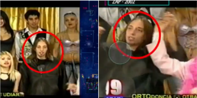 Más bizarreadas: apareció un video del gigoló en Zap, el viejo programa de Marcelo Polino