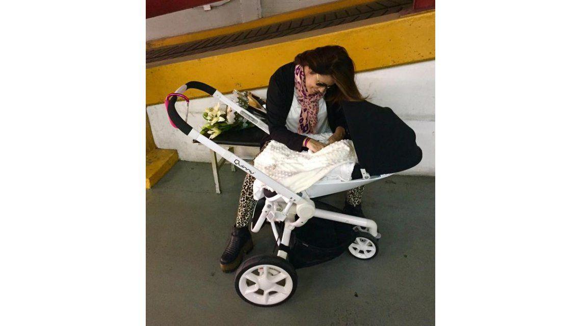 María Fernanda Callejón, sobre su hija Giovanna: Esta bebita es un poco de la gente