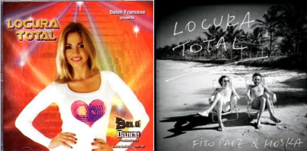 Belén Francese le reclama a Fito Páez que le copió la tapa de un CD: Dejen de chorear