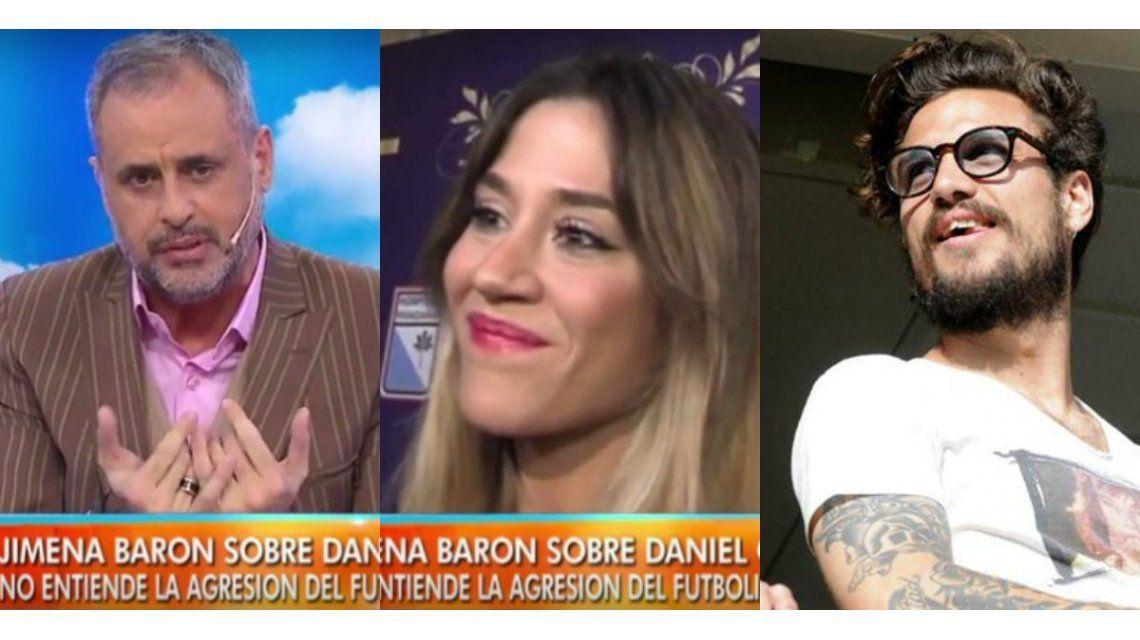 Jorge Rial le pidió perdón a Jimena Barón: Me da vergüenza que tenga que hablar de las guarangadas de Daniel Osvaldo