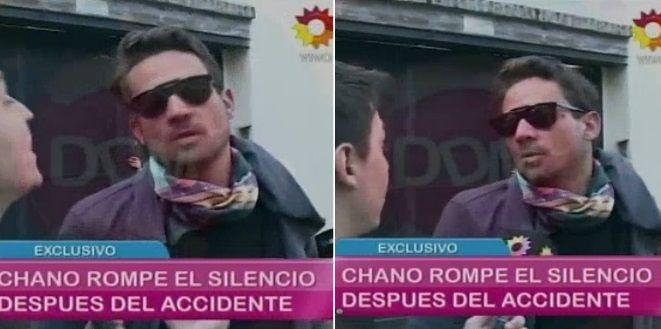 Chano Charpertier rompió el silencio tras el accidente: Tengo doscientos mil quilombos