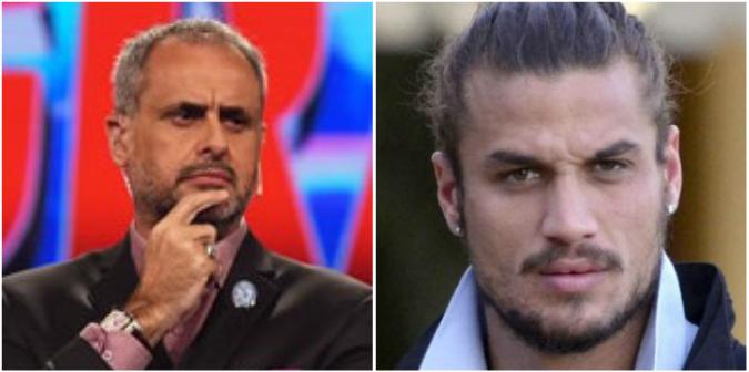 La guerra tuitera de Jorge Rial y Daniel Osvaldo: Hacete cargo de tus hijos, cag...