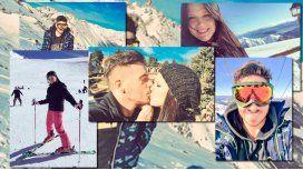 Románticas vacaciones de Fede y Barbie: amor, besos y bromas en la nieve