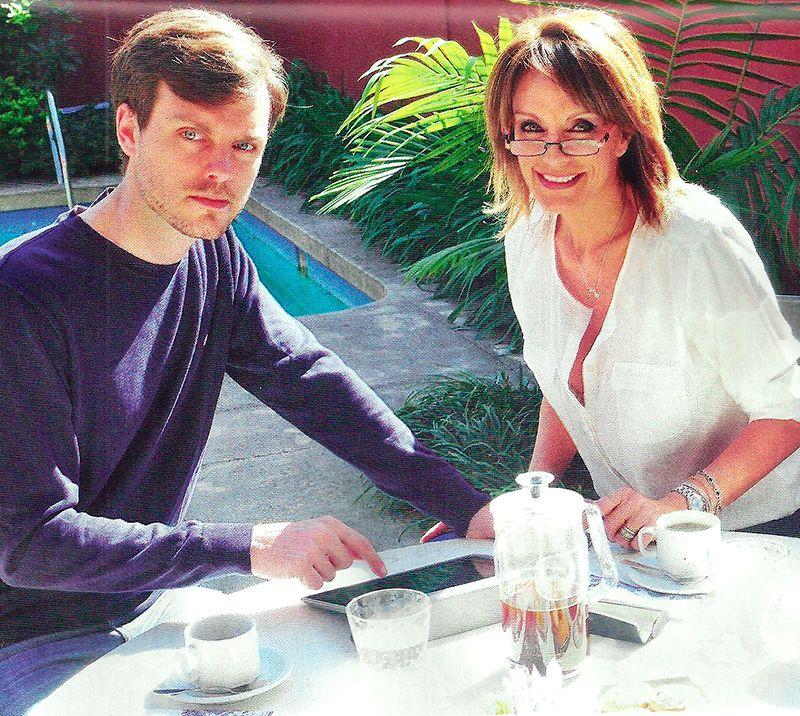 Nequi Galotti y su hijo Luis Rusconi: cómo conviven entre la familia y el periodismo