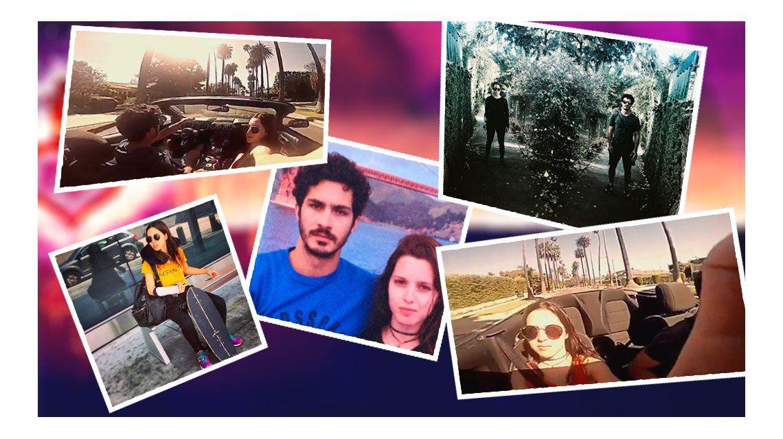 Viaje de hermanos: el álbum de fotos de las vacaciones de Chino y Clara Darín