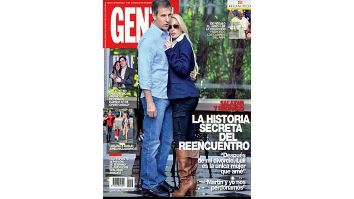 Martín Redrado y Luciana Salazar: Después de mi divorcio, Luli es la única mujer que amé