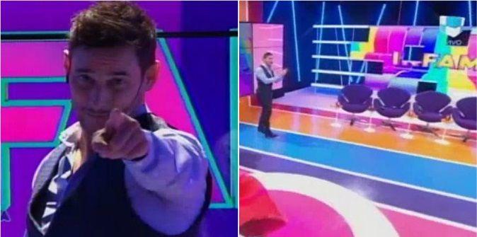 Rodrigo Lussich se puso al frente de una nueva temporada de Infama: La tele es un campeonato que se juega todos los días