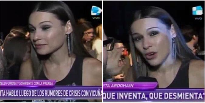 Pampita habló de los rumores se crisis con Benjamín Vicuña: Ocúpense ustedes de pedir disculpas, yo no entro en el juego