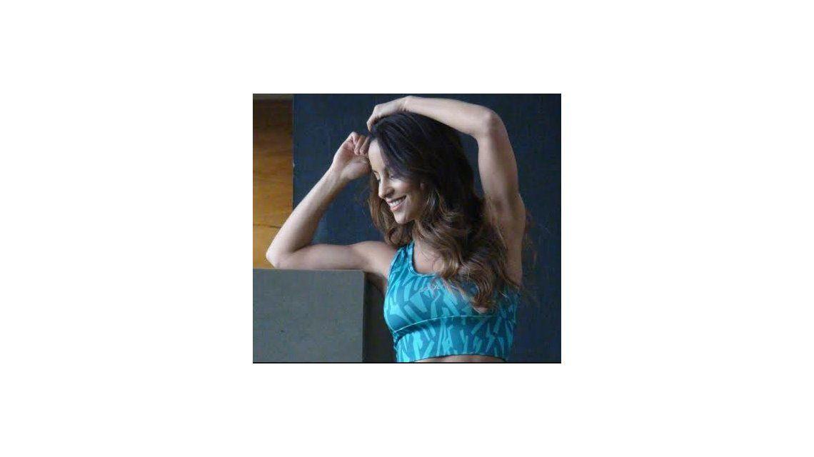 Lourdes Sánchez, en una producción de fotos deportiva, ¡y sexy!