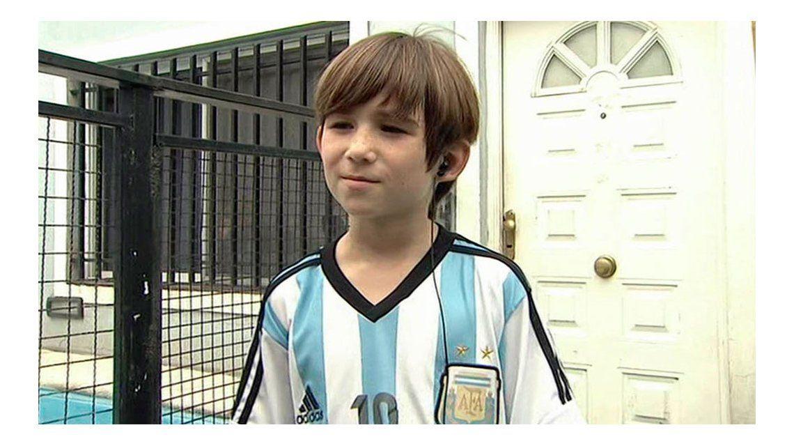 El pequeño actor de Madres e hijos que filmará con Lionel Messi