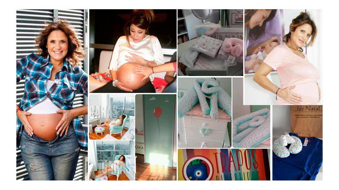 Nació Giovanna, la hija de María Fernanda Callejón