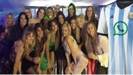 Quiénes quedaron afuera del grupo de las mujeres de los jugadores de la Selección