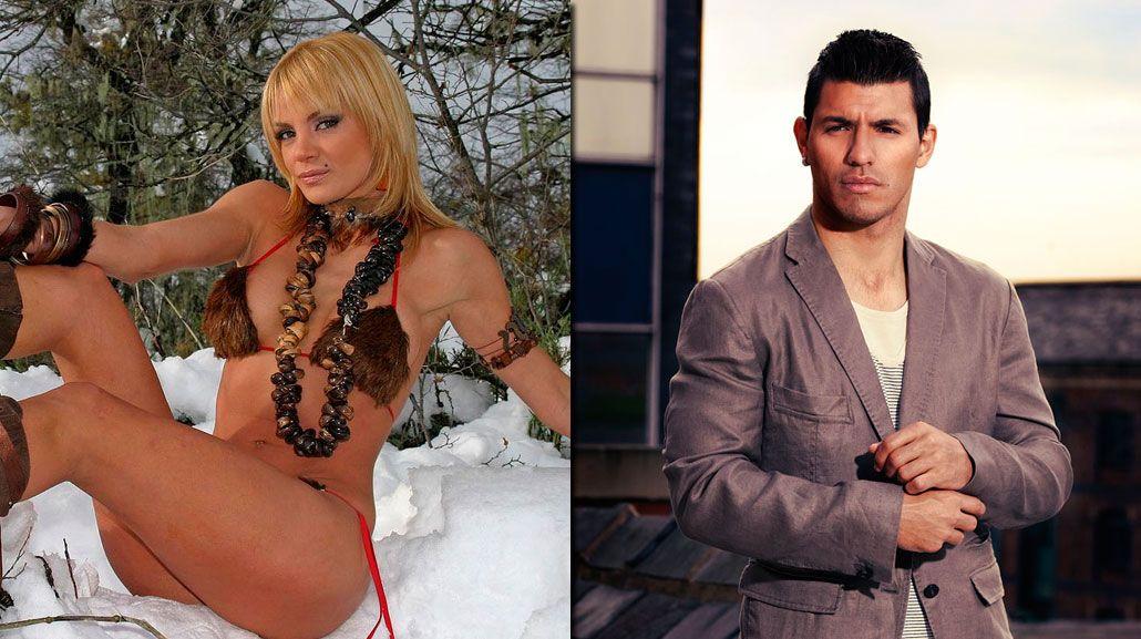 Como era previsible, Eliana Guercio negó su romance vintage con el Kun Agüero