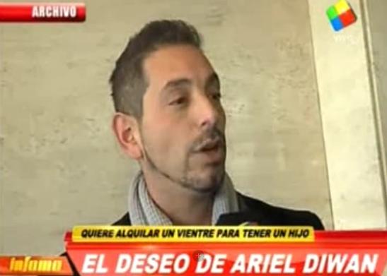 Ariel Diwan quiere ser padre soltero: Si es mío nadie me lo puede sacar