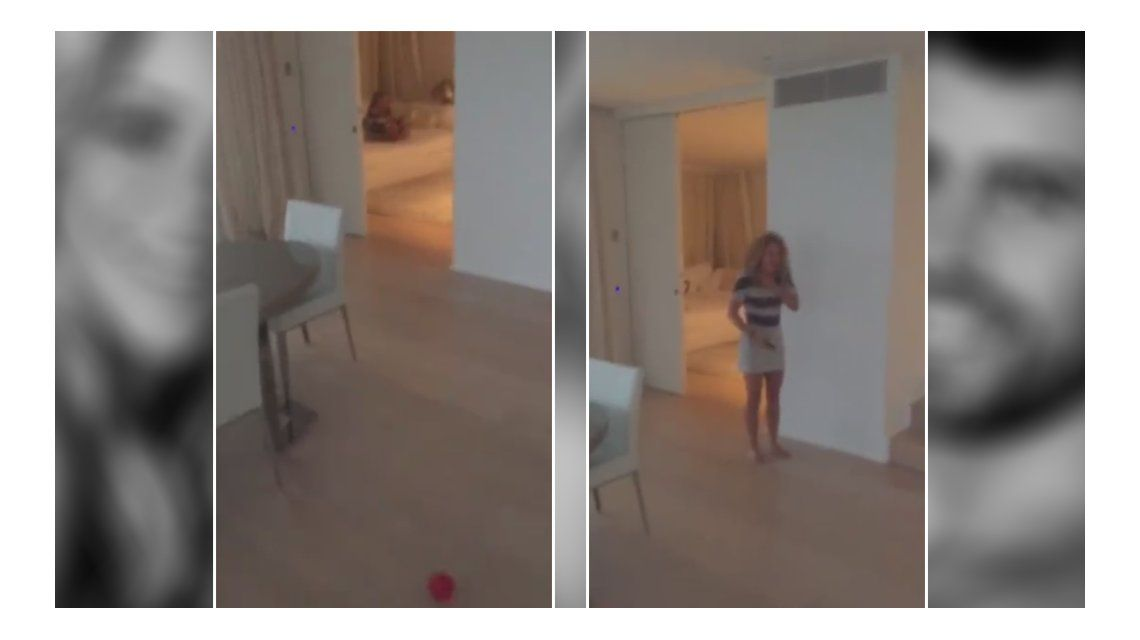 Con un divertido video, Shakira escrachó a Piqué: Esto es vivir con un futbolista
