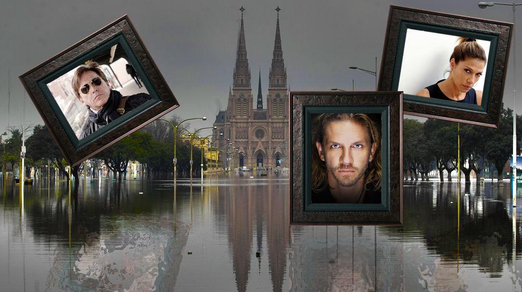 Inundaciones: los famosos se solidarizan en las redes
