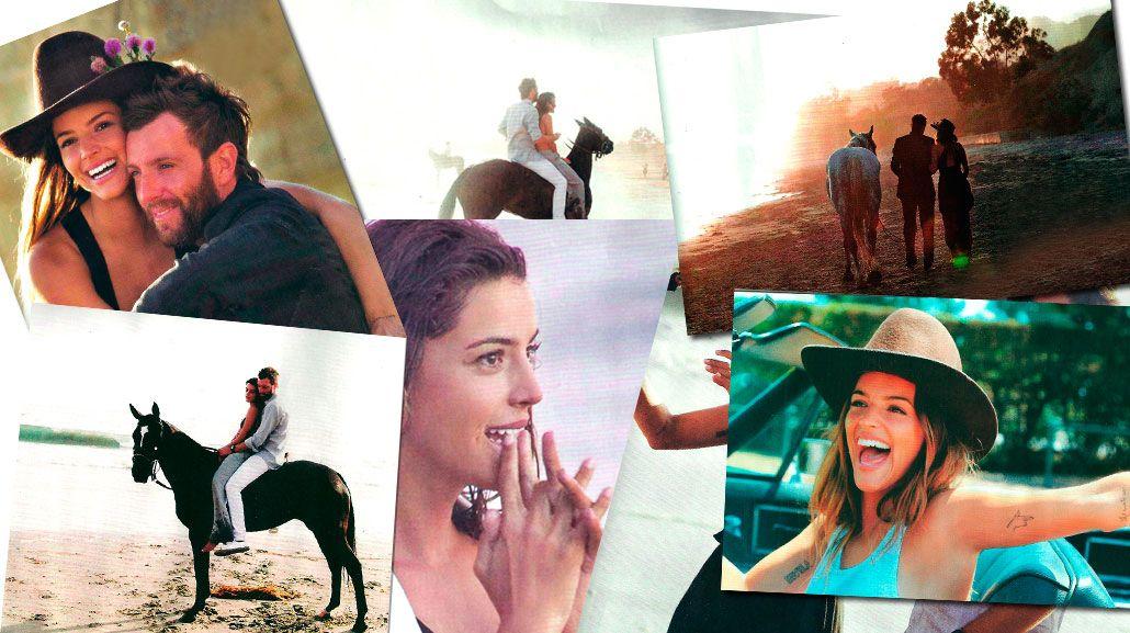 La romántica (y nómade) vida de Calu Rivero y Polito Pieres