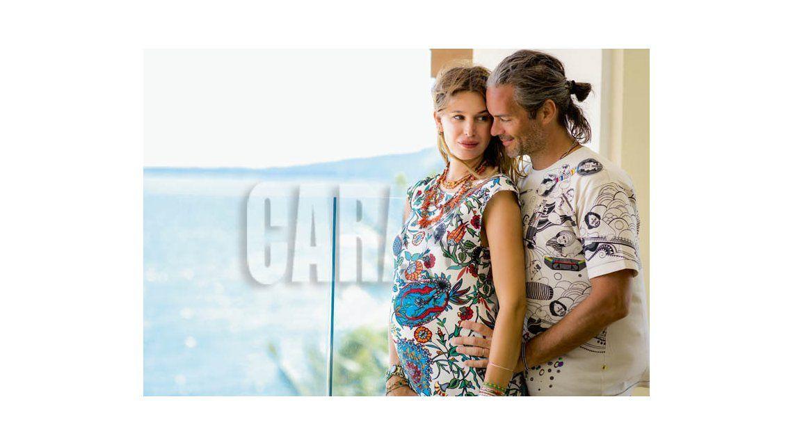 Las fotos de las paradisiacas vacaciones en familia de Dolores Barreiro, con pancita de 7 meses