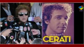 Habló la tía de Cerati: Es innecesario hacer un libro en esos términos