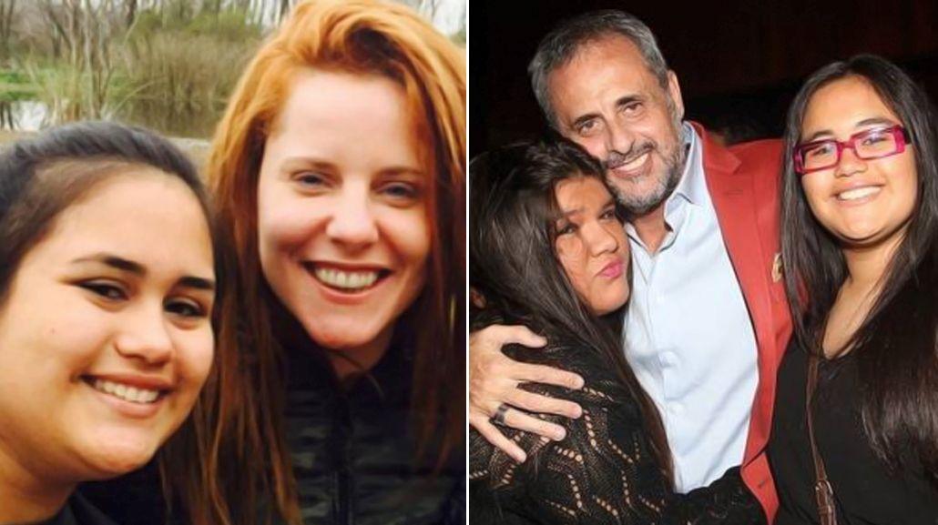 El primer viaje romántico y familiar de Jorge Rial con sus hijas y Agustina Kämpfer
