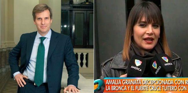 ¿Despechada? Amalia Granata denuncia censura y apunta contra Martín Redrado: Tengo pruebas de todo