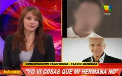 La hermana de Flavio Mendoza y el drama por la estafa de su ex novio: Se creó una identidad falsa