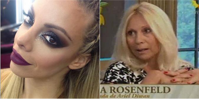 Gisela Bernal, furiosa contra Ana Rosenfeld mientras la abogada hablaba en lo de Mirtha Legrand